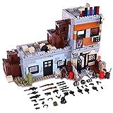 GUOGUO 912 Stück Militär Bausteine Spielzeug Military Army Waffen und Zubehör Set für SWAT Team Polizei Soldaten Mini Figuren Kompatibel mit Lego