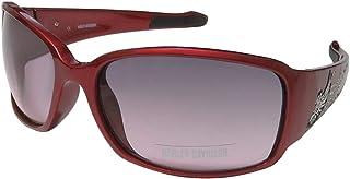 ad5d3ef5ee Harley-Davidson - Gafas de Sol (Montura roja, Lentes degradados), Color