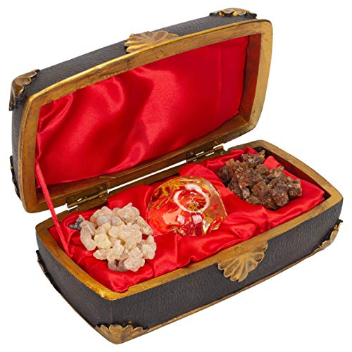 The Regal Music Box Gold Frankincense Myrrh