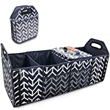 Trunk Organizer, Foldable Cargo Storage Bag Portable Insulation Cooler Bag Collapsible Vehicle Organizer
