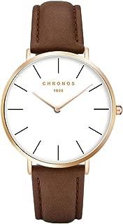 Fashion Classic Unisex Women Men Quartz Watch PU Leather/Alloy Strap Anolog Ladies Gents Wrist Watch