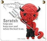 Kamibashi Scratch the Devil The Original String Doll Gang Keychain Clip