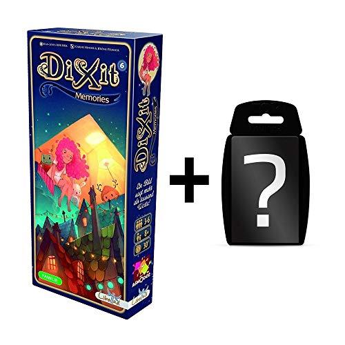 DIXIT - 6 Memories - Erweiterung-6 | DEUTSCH | Erweiterung vom Spiel des Jahres 2010 | Set inkl. Kartenspiel