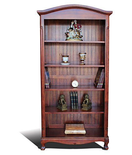 mousasgallery Libreria in Legno massello Classic | Realizzata a Mano |