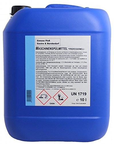 Maschinenspülmittel Profi 10L mit Chlor für gewerbliche Spülmaschinen
