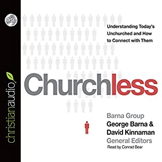 Churchless audiobook cover art