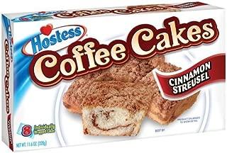 Hostess Cinnamon Streusel Coffee Cakes 11.6 Ounce Package of 8