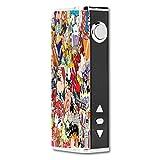 Decal Sticker Skin WRAP - Eleaf iStick TC40W - Sticker Bomb