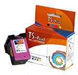 TS-Print 901XL 901 XL HP Remanufacturado Cartucho de Tinta Tricolor Officejet 4500 J4500 J4524 J4535 J4540 J4545 J4550 J4580 J4585 J4600 J4624 J4660 J4680C