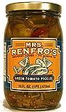 Mrs. Renfro's Green Tomato Pickles, Gluten Free, No Sugar Added, 16 oz Jar, Pack of 4
