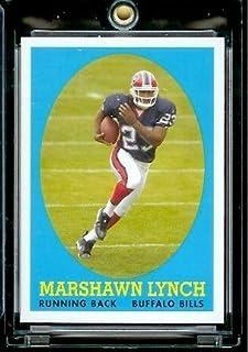 "2007 Topps #15 Marshawn Lynch Buffalo Bills ""Turn Back The Clock"" Football Rookie Card"