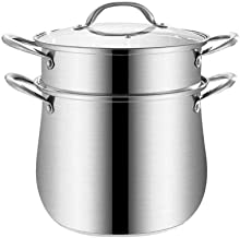 Special/Simple 304 Stainless Steel Soup Pot Steamer Household Porridge Pot Large-Capacity Stew Pot Plus High Pot Cooker In...