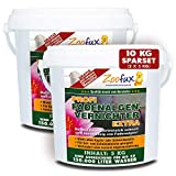 ZOOFUX Profi Gartenteich Fadenalgenvernichter EXTRA (Schneller Algenvernichter, Algenentferner, Algenmittel ohne Kupfer + Schwermetalle - Fadenalgen preiswert direkt vom Hersteller), Inhalt:10 kg