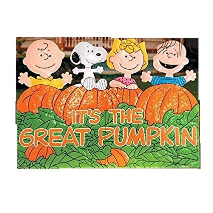 Charlie Brown Halloween Lawn Decorations  from m.media-amazon.com