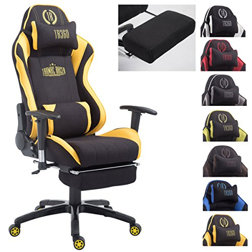 Silla gaming amarilla Shift V2 en tela