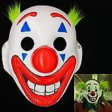 Ubauta Mask Joker Arthur Fleck Maschere Cosplay Film Clown Halloween Costume-Mostrando Denti (1 Pezzi)