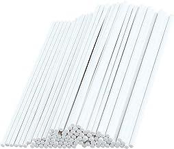 Lollipop Sticks, 100Pieces Paper Sticks for Funny Lollipop Making, White