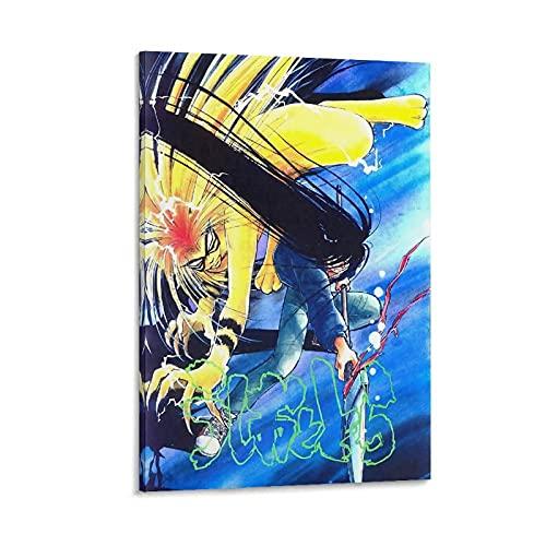 Poster Ushio e Tora Ushio Poster Ushio Poster decorativo su tela da parete per soggiorno, camera da letto, 50 x 75 cm
