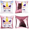 Merrycolor Unicorn Gifts Mermaid Throw Pillow Cover