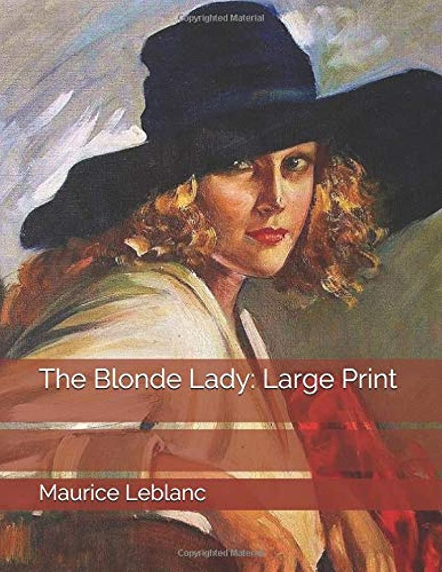 なる暗殺するリンクThe Blonde Lady: Large Print