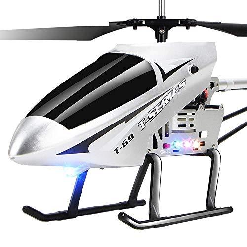 Tritow Control remoto de radio súper grande 3.5 canales 2.4GHZ Gyro Helicóptero RC LED Interior Helicóptero al aire libre Estable Fácil de aprender Buena operación Niño Juguete Aviones for niños Adult