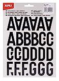 APLI 4440 - Letras adhesivas mayúsculas 40 mm