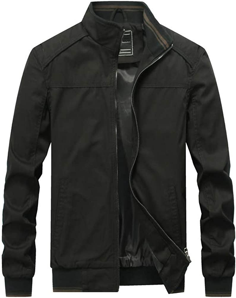 Opening large release sale PASOK Men's Cotton Max 44% OFF Military Jackets Outdoor Sta Coat Lightweight