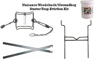 Nuisance Woodchuck/Groundhog Starter Trap Eviction Kit