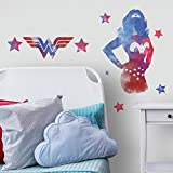 RoomMates Wonder Woman Watercolor Peel And Stick Giant Wall Decals