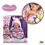 Nenuco de Famosa Saquito Mágico, muñeca bebé con Luces y Sonidos para niñas y niños a Partir de 10 M...