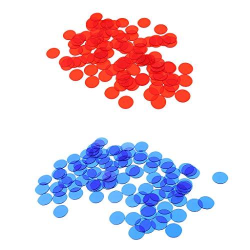 #N/A 1000pc Count Bingo Chips Marker Für Bingo Spielkarten Poker Spiel Teile