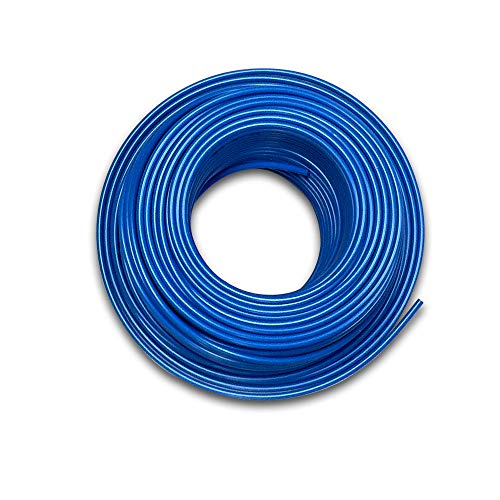 Food Grade 1/4 Inch Plastic Tubing for RO Water Filter System, Aquariums, Refrigerators, ECT; BPA free; Made from FDA compliant materials and meets NSF Standards and Regulations (30 Feet, Blue)