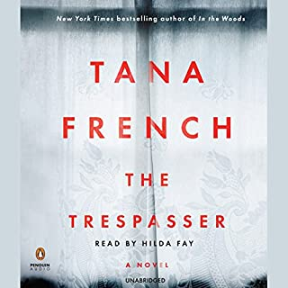 The Trespasser audiobook cover art