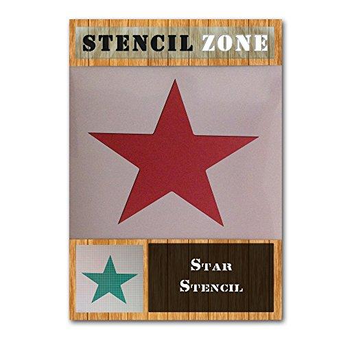 Stern Mylar Airbrush Malerei Wand-Kunst-Schablone einer (A3 Größe Stencil - Medium)