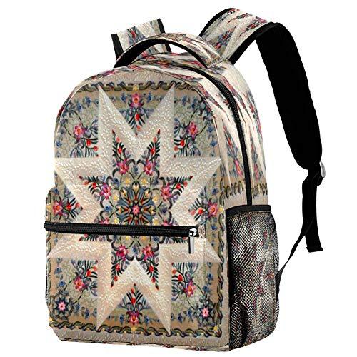 Mochila de béisbol de color amarillo para la escuela, mochila para el libro, mochila informal para viajes, estampado 7 (Multicolor) - bbackpacks004