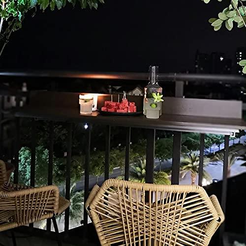 CHY Balcón barandilla colgante mesa hogar colgante pequeña mesa,Comedor de computadora Bar mesa