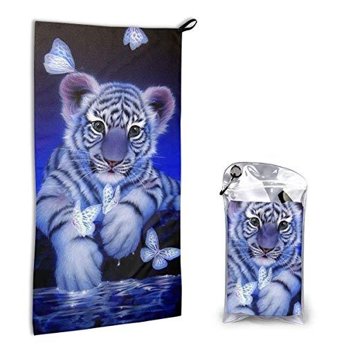 Bathroom Towels Shower Towels Toalla de secado rápido, neumático mariposa Beach Towels 140 X 70