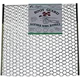 "Digger's Root Guard 100051035 Gopher 12"" Wire Baskets, 5 Gallon, Natural"