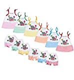 Fabric made of Silk cotton will keep your baby comfortable all day 6 sets per pack Itch free fabric Knoted strap for easy wear colorful and attractive prints