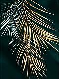 XIAOTAIZINAI Kit Fai da Te Pittura Diamante 9D Fiore d'oro Diamante di Cristallo Kit mestiere Diamante Pieno Diamante Arte Kit Bambini Adulti principiante 40X50 cm Senza Cornice
