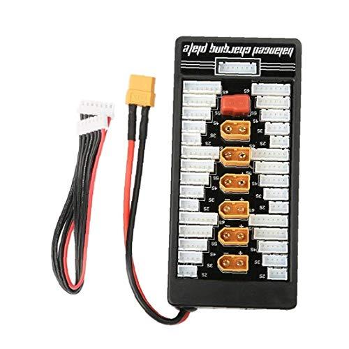 cargador de batería XT60 2-6S paralelo equilibrado de carga tablero tablero de carga