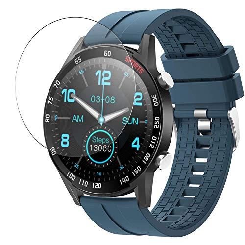 Vaxson 3-Pack Vetro Temperato Pellicola Protettiva, compatibile con YoYoFit SW212 Smart Watch, 9H Screen Protector Film [Non Cover Case ]