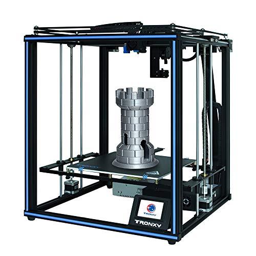 Entweg X5SA Pro Imprimante 3D de Haute précision Kit de Bricolage Assemblage Auto Grand Format d'impression 330 * 330 * 400mm Support Filament Nivellement Automatique Détection