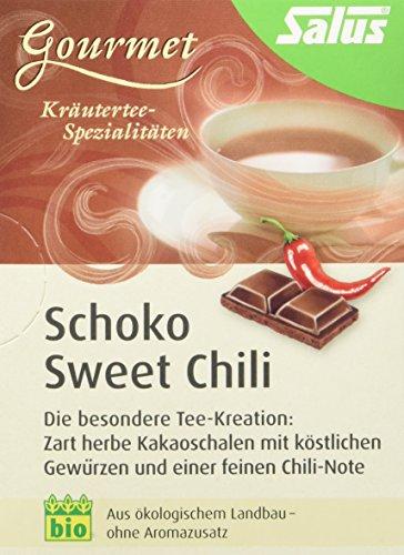 Salus Schoko Sweet Chili Kräuter-Gewürztee, 3er Pack (3 x 34,5 g)