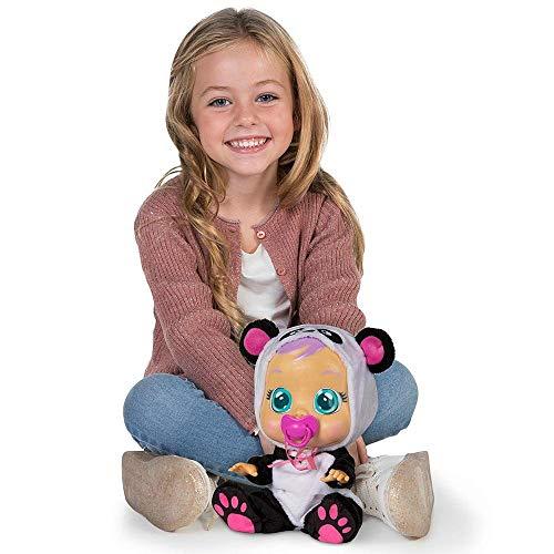 Boneca Crybabies Pandy Com Chupeta, Alimentação 3 Pilhas AA Indicado Para +4 Anos Multikids - BR1177, Multicor