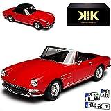 KK-Scale Ferrari 275 GTB4 Nart Spyder Cabrio Rot mit Soft Top Dach 1964-1968 limitiert 1000 Stück 1/18 Modell Auto