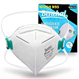 N95 Mask 20 Pcs, NIOSH Certified Particulate Respirators Protective N95 Face Mask (Approval Number TC-84A-7447/MS8225), Comfortable and Breathable, Headband Style