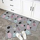HLXX Alfombrilla de Cocina Antideslizante para Suelo, Alfombra de baño Moderna, Felpudo de Entrada, tapete, alfombras de área de Moda, Almohadilla de Dormitorio, A15, 50x80cm