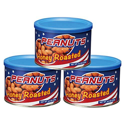 ハニーロースト ピーナッツ 3缶セット【アメリカ おみやげ(お土産) 輸入食品 スナック ナッツ 】
