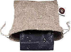 Dr. Squatch Travel Bag for Bar Soap – Take Your Beloved Soap on The Road with This Super-Absorbent Drying Canvas Bag